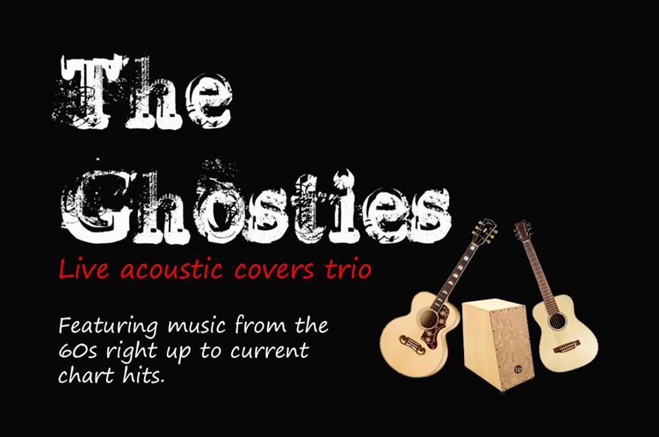 The Ghosties: Acoustic covers trio for pubs and functions in Merseyside