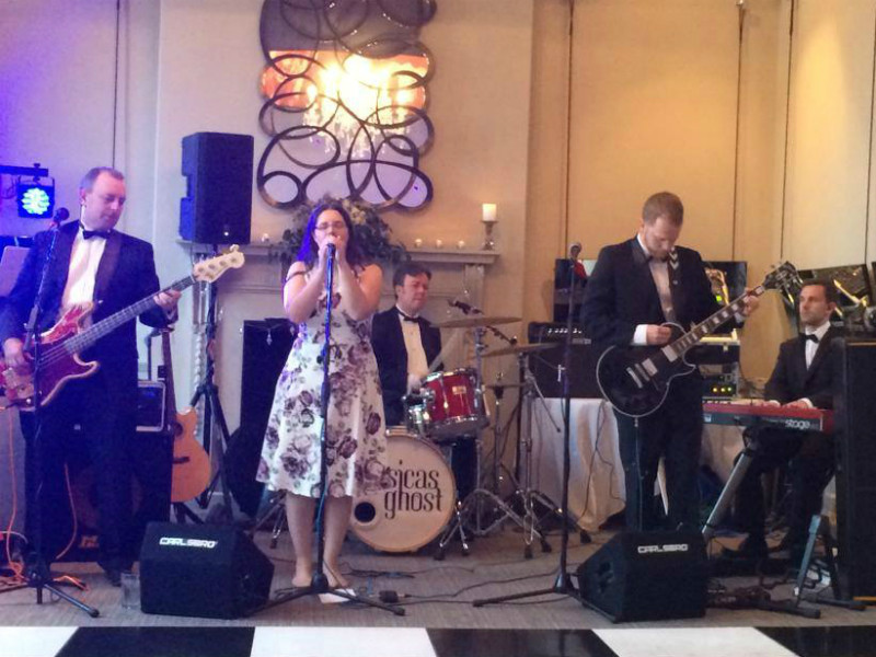 Jessicas Ghost Merseyside wedding band playing at Oddfellows, Chester