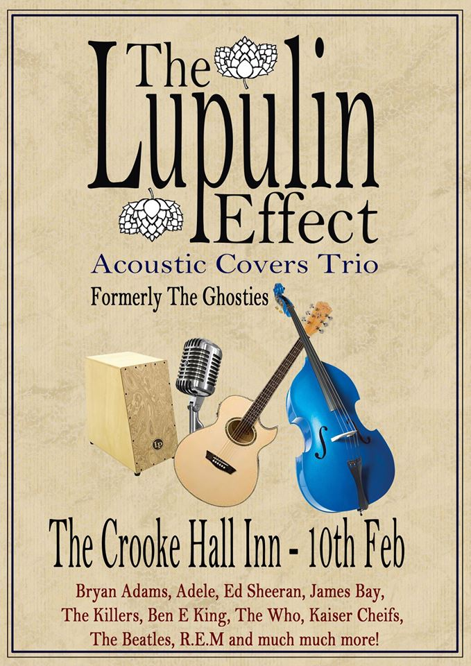 The Lupulin Effect: Acoustic covers trio for pubs and functions in Merseyside
